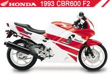 1993 Honda CBR600F2 Accessories