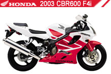 2003 Honda CBR600F4i Accessories