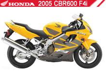 2005 Honda CBR600F4i Accessories