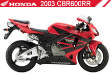 2003 Honda CBR600RR Accessories