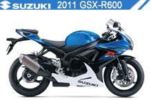 2011 Suzuki GSXR600 Accessories