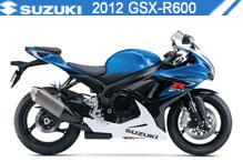 2012 Suzuki GSXR600 Accessories