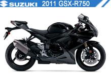 2011 Suzuki GSXR750 Accessories