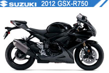 2012 Suzuki GSXR750 Accessories