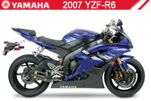 2007 Yamaha YZF-R6 Accessories