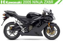 2005 Kawasaki Ninja ZX-6R Accessories