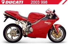 2003 Ducati 998 Accessories