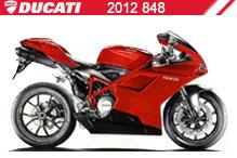 2012 Ducati 848 Accessories