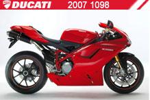 2007 Ducati 1098 Accessories