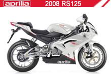 2008 Aprilia RS125 Accessories