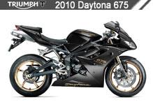2010 Triumph Daytona 675 Accessories