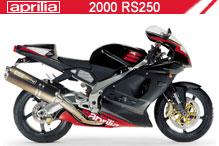 2000 Aprilia RS250 Accessories