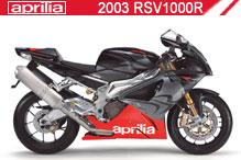 2003 Aprilia RSV 1000 R Accessories