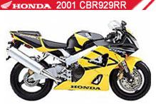 2001 Honda CBR929RR Accessories
