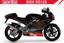 2005 Aprilia RS125 Accessories