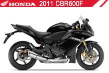2011 Honda CBR600F Accessories