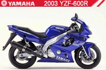 2003 Yamaha YZF600R Accessories