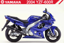 2004 Yamaha YZF600R Accessories