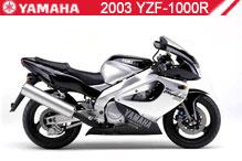 2003 Yamaha YZF1000R Accessories