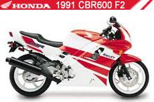1991 Honda CBR600F2 Accessories