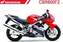 CBR600F2 Fairings