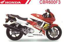 CBR600F3 Fairings