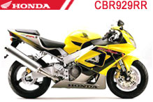 CBR929RR Fairings