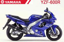 YZF600R Fairings
